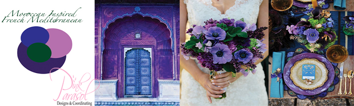 moroccan inspired wedding color palette